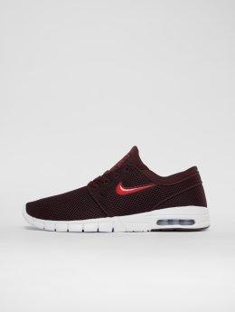 Nike SB Sneakers Stefan Janoski Max czerwony