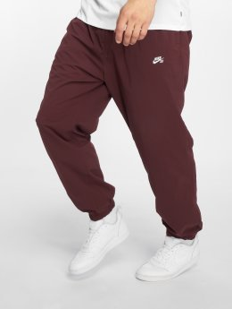 Nike SB Spodnie do joggingu FLX czerwony