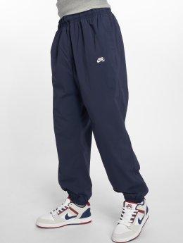 Nike SB Spodnie do joggingu FLX niebieski