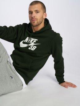 Nike SB Spodnie do joggingu Icon zielony