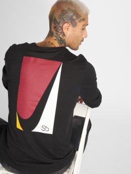 Nike SB T-Shirt manches longues Square noir
