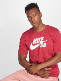 Nike SB T-skjorter SB Logo red