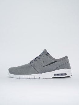 Nike SB Tennarit Stefan Janoski Max Leather harmaa