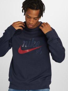 Nike SB Trøjer Top Icon GFX blå