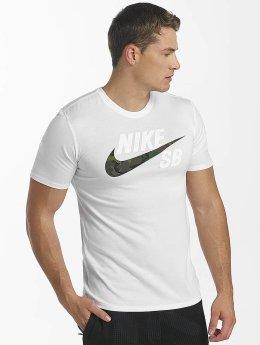 Nike SB Tričká Dry biela