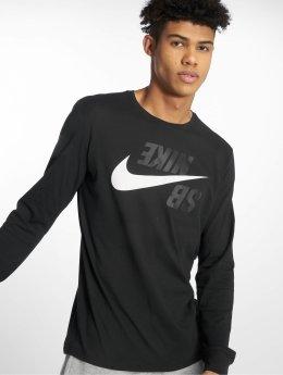Nike SB Tričká dlhý rukáv Sb Logo èierna