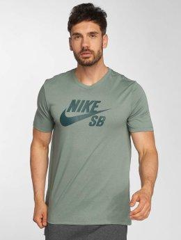 Nike SB Tričká Logo zelená