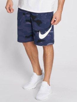 Nike Short Sportswear FT Club Camo QS bleu