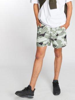 Nike Shorts Flow Camo grau