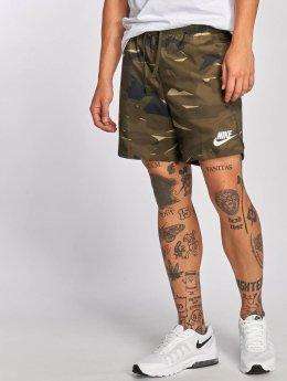 Nike shorts Sportswear Flow Camo Woven khaki