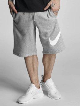 Nike Shortsit FLC EXP Club harmaa
