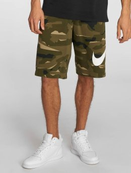 Nike Shortsit FT Club oliivi