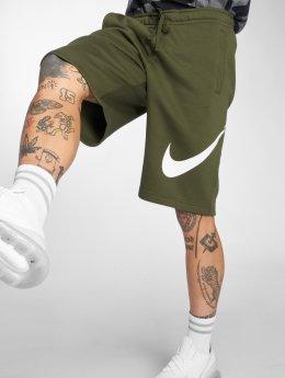 Nike Shortsit Sportswear oliivi