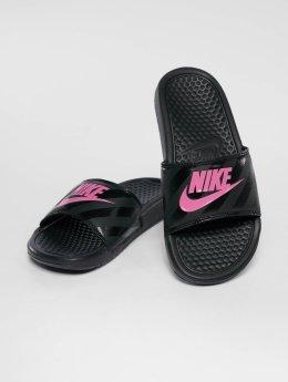 Nike Slipper/Sandaal Benassi Just Do It zwart