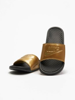 Nike Slipper/Sandaal Benassi Just Do It zwart