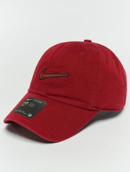 Nike Snapback Caps Unisex Sportswear Essentials czerwony