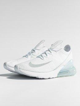 Nike Sneaker Air Max 270 Flyknit bianco