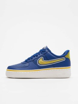 Nike Männer Sneaker Air Force 1 '07 LV8 Sport in blau