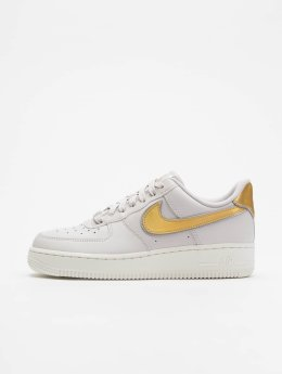 Nike Sneaker Air Force 1 07 Metallic grau