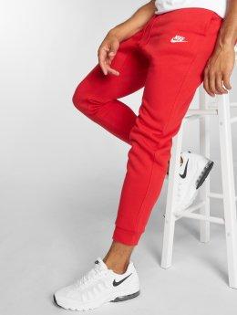 Nike Spodnie do joggingu Sportswear czerwony