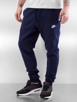 Nike Spodnie do joggingu NSW FLC CLUB niebieski