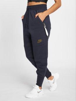 Nike Spodnie do joggingu Stitchy niebieski