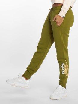 Nike Spodnie do joggingu Rally oliwkowy