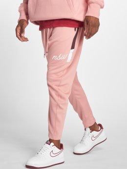 Nike Spodnie do joggingu Shiny rózowy