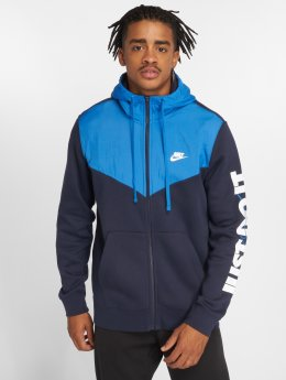 Nike Sudaderas con cremallera Sportswear azul