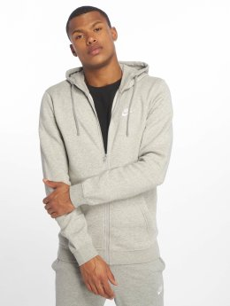 Nike Sudaderas con cremallera Sportswear gris