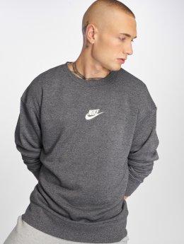 Nike Svetry Sportswear Heritage šedá
