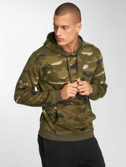 Nike Sweat capuche Sportswear Club Fit olive
