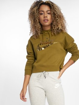 Nike Sweat capuche Rally olive