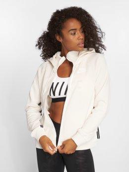 Nike Sweat capuche zippé Sportswear beige