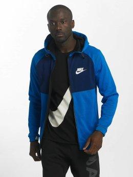 Nike Sweat capuche zippé AV15 Fleece bleu