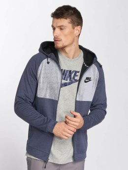 Nike Sweat capuche zippé AV15 Fleece bleu