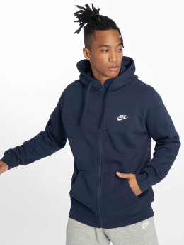 Nike Sweat capuche zippé Liam bleu