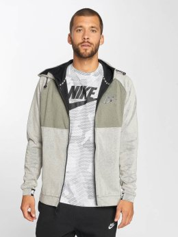 Nike Sweat capuche zippé AV15 Fleece gris
