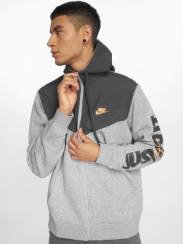 Nike Sweat capuche zippé  gris