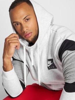 Nike Sweat capuche zippé Transition gris