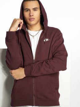 Nike Sweat capuche zippé Sportswear pourpre