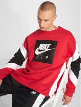 Nike Swetry Stripe czerwony