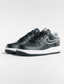Nike Tøysko Air Force 1 '07 Leather svart