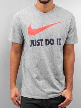 Nike T-paidat New JDI Swoosh harmaa
