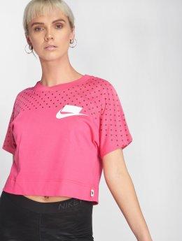 Nike T-paidat Sportswear vaaleanpunainen