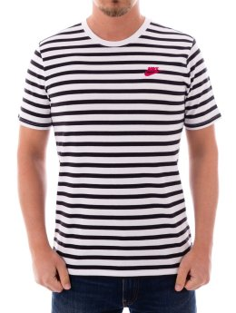 Nike T-Shirt Sportswear Striped black