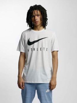 Nike T-Shirt Dry Athlete Training blanc