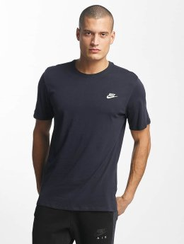 Nike t-shirt NSW Club blauw