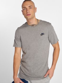 Nike t-shirt Sportswear Club grijs