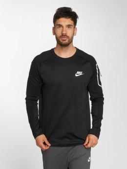 Nike T-Shirt manches longues Sportswear AV15 Fleece noir